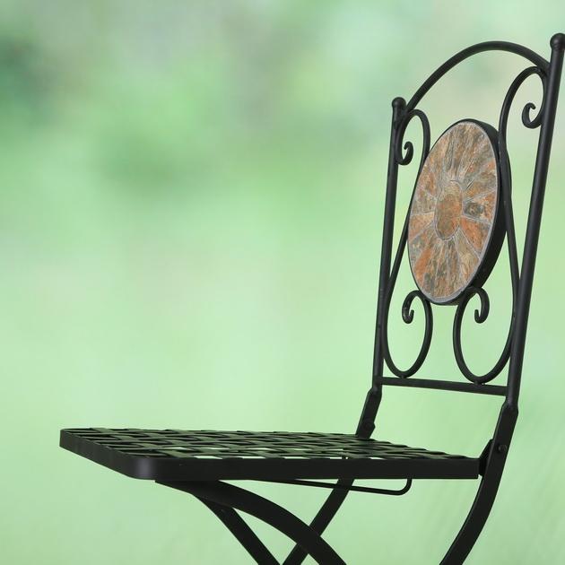 Stuhl Basel, H 89 cm, Eisen,