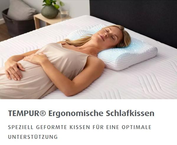 TEMPUR® SHAPE SCHLAFKISSEN mit Cool Touch