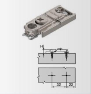 Ersatzteil  Montageplatte 175H5400