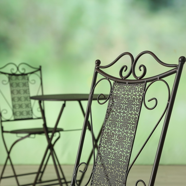 Tisch - Stuhl Set Broder, 3 tlg., Set