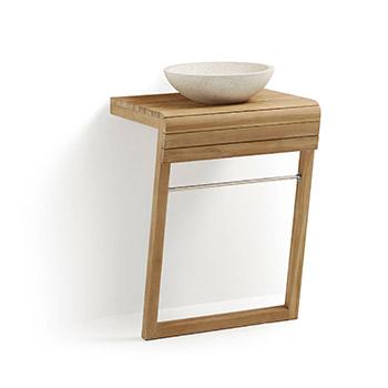 Waschtisch in Teak Holz