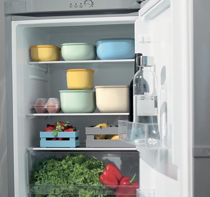Dicht schließende Dosen für Kühlschrank/Gefrierschrank/Mikrowelle, niedrig (L)