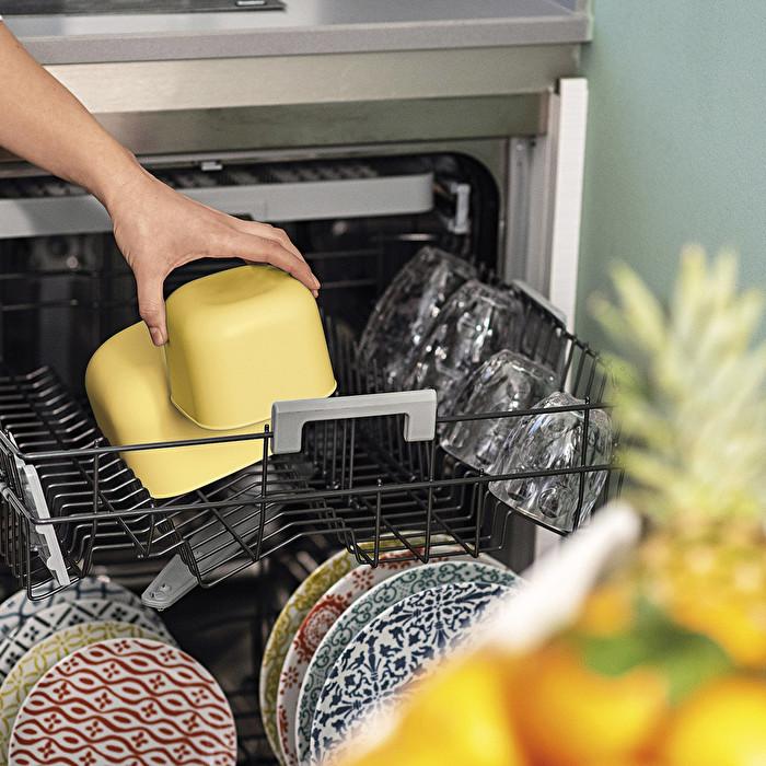 Dicht schließende Dosen für Kühlschrank/Gefrierschrank/Mikrowelle, niedrig (S)